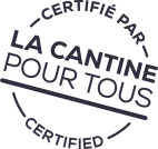 Certifié par La Cantine pour tous